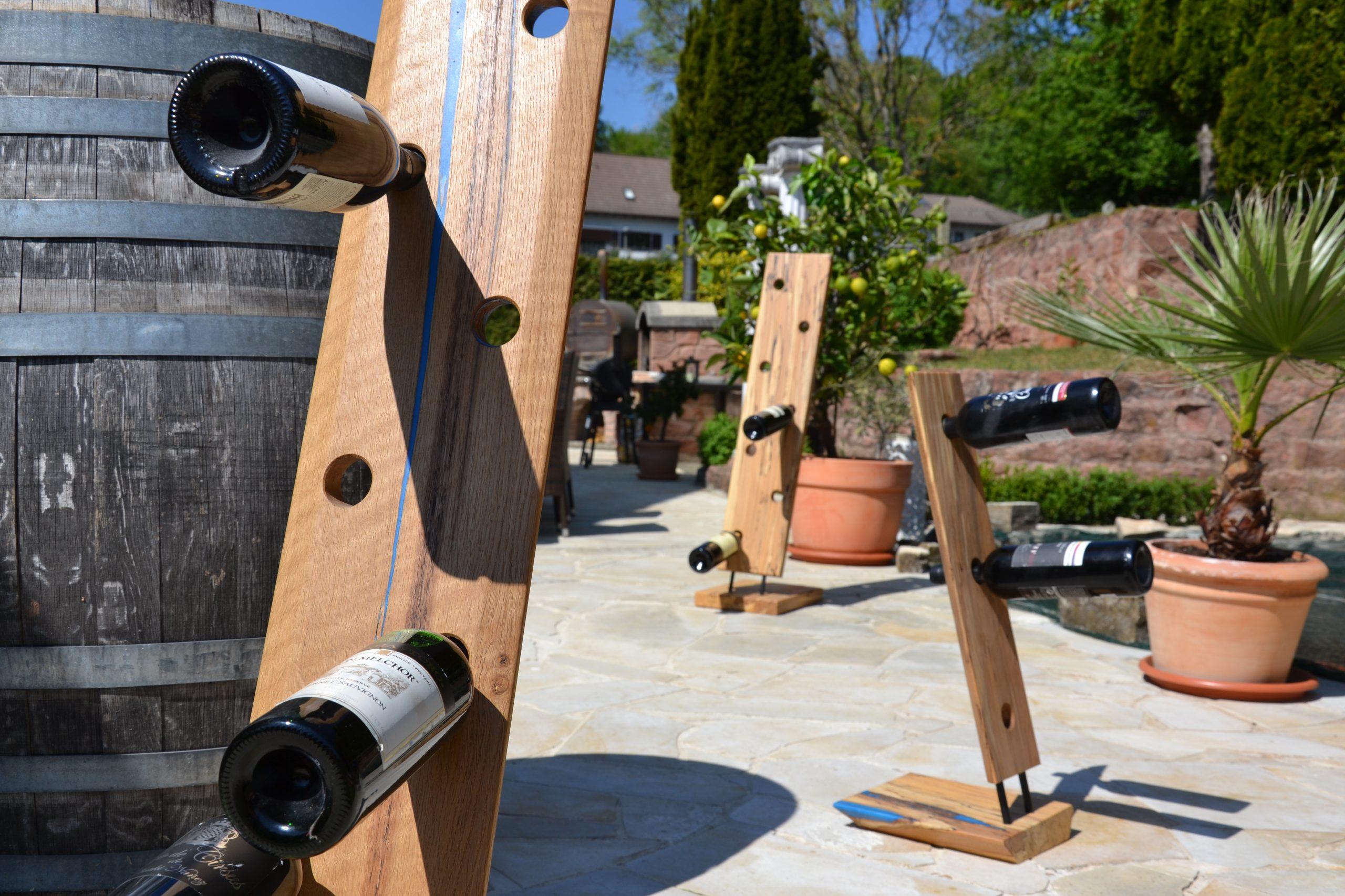 Weinständer Epoxidharz